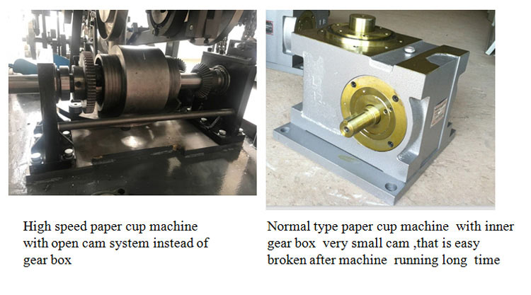 High Speed Single Plate Open Cam Paper Cup Machine JBZ-OCM12 19